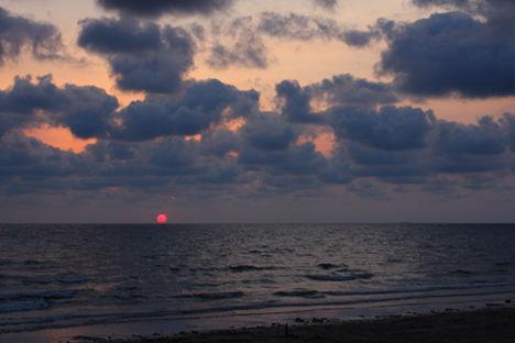 チャオラオ海岸 夕日