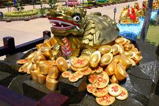 クワンイン寺院 銭亀
