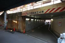 淡路駅地下道