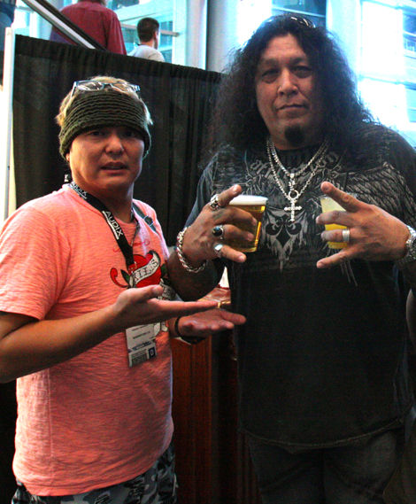 with CHUCK BILLY@TESTAMENT