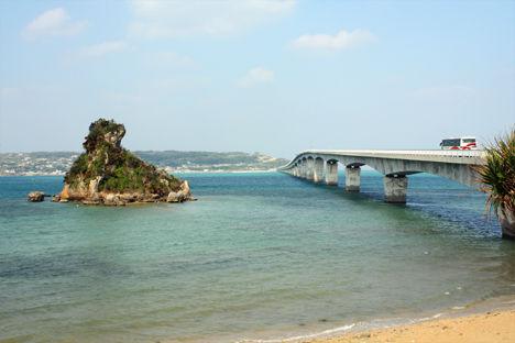 古宇利島 橋