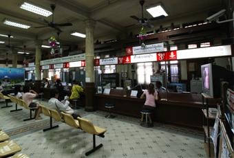 バンコック中央駅