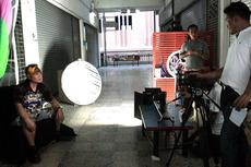 テレビ撮影3