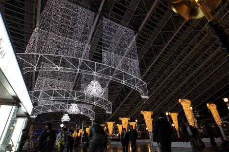 大阪駅 ライトアップ