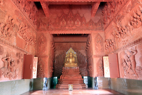 シラーングー寺院 中