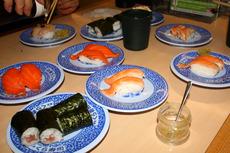オレンジの寿司