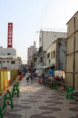 淡路商店街撤去