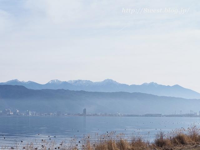 諏訪湖と八ヶ岳1