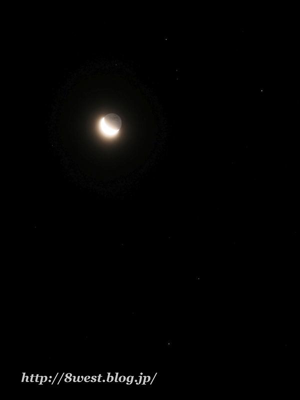 月とアンタレス