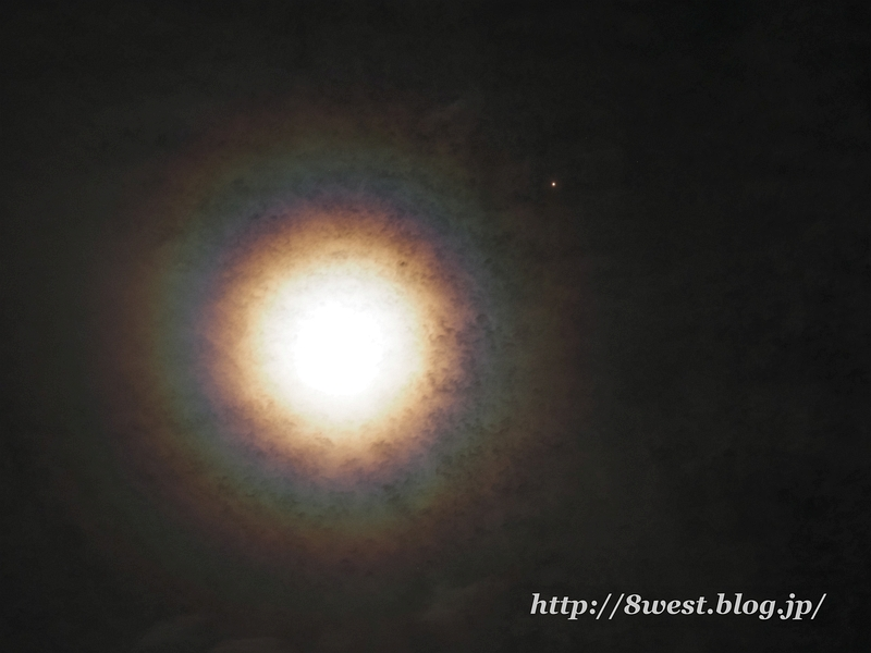 月光環と火星