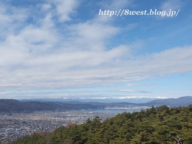 諏訪湖と北ア3