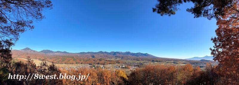 八ヶ岳~南アルプス