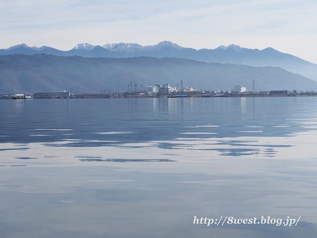 諏訪湖と八ヶ岳2