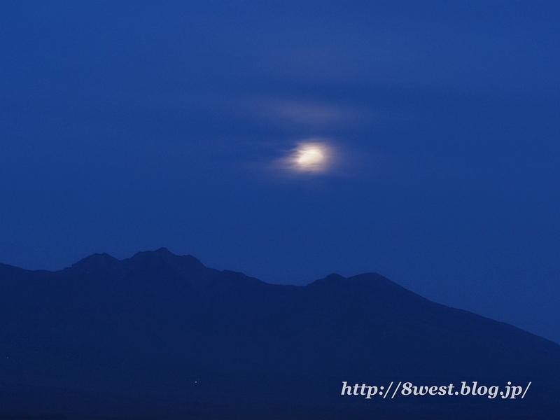 月の出過ぎ