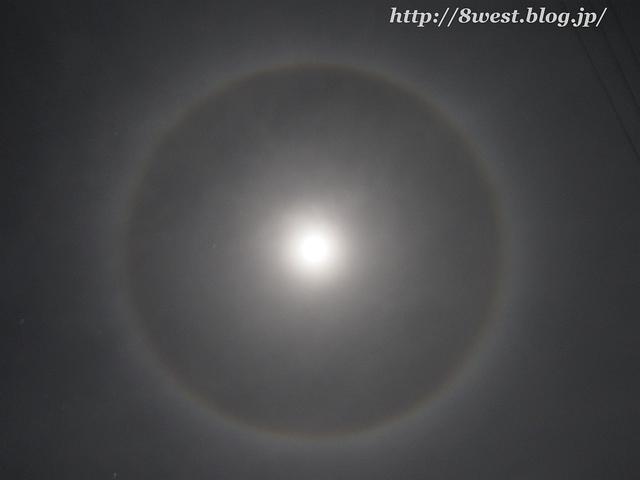 月のハロ2
