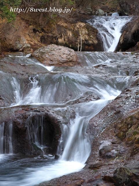 おしどり隠しの滝4