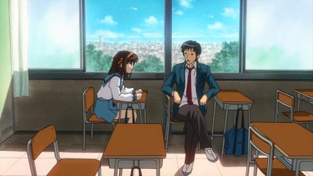 Hampir Semua Anime Berlatar Tempat Sekolah Bakalan Naro Karakter Utamanya Di Samping Jendela Ato Ngga Paling Belakang Mungkin Justru Dua Duanya