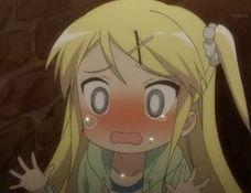 カレン泣き顔