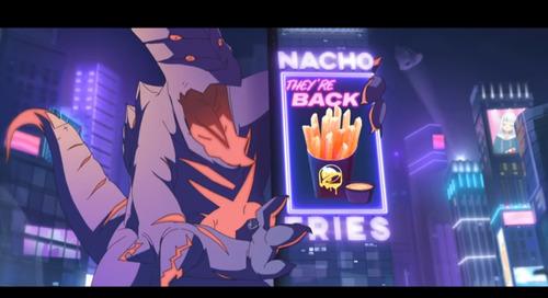 【Vtuber】なんか凄いアニメーションの一部にサメちゃんがちょっとだけ出てるのはもう見た?!【Taco Bell】