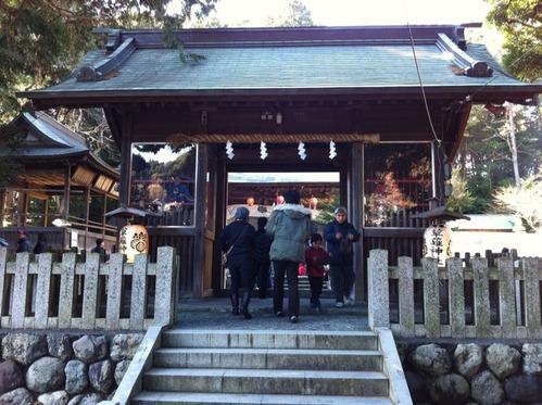 草薙神社参拝