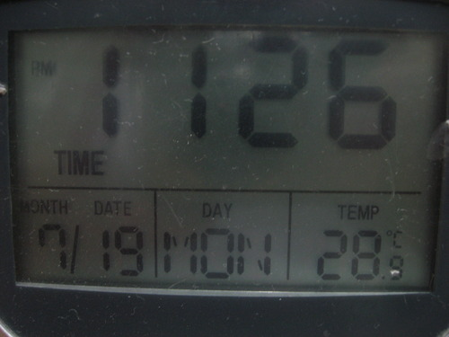 室温28度