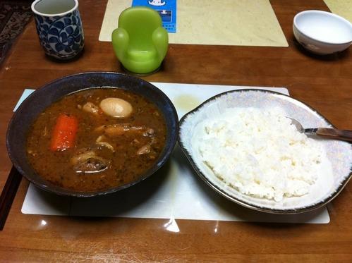 スープカレーチキン