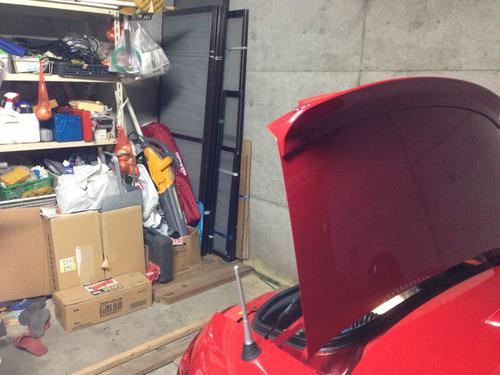 車庫のスクラップ