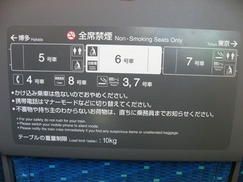 700N系指定席
