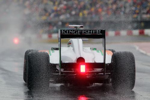 雨のカナダGP