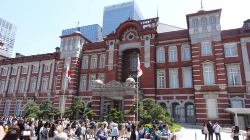 東京駅で待合せ