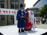 韓国伝統結婚衣裳