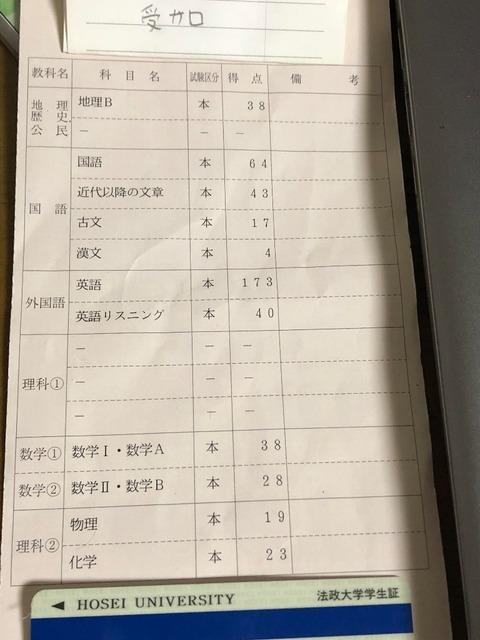 【悲報】有名ワタクさん、センター3割台でも受かってしまう【早慶・MARCH】