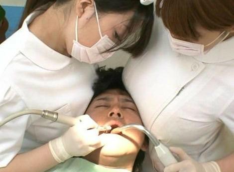 【画 像】歯科衛生士のおっぱいでかすぎやろwwwwwwwwwwwwww