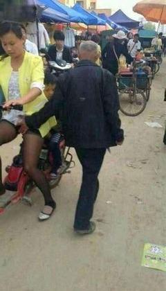 【画像】中国の痴漢がヤバすぎる、これは・・・・