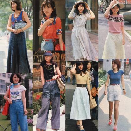 【画 像】1970年代女子夏の服装wwwwwwwwwwwwwwwww