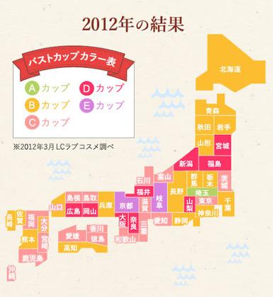 【画像】日本人のおっぱ.い、どんどん大きくなる