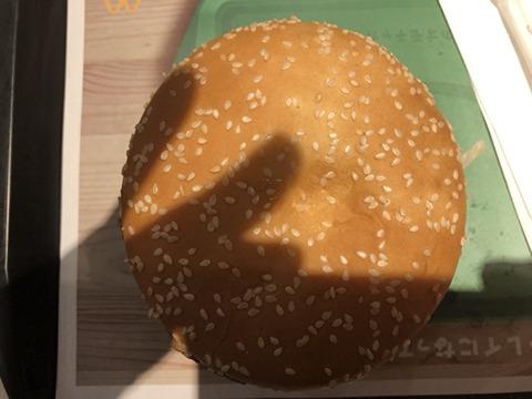 マクドナルドのギガビッグマック その3