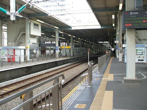 広島駅新幹線ホーム