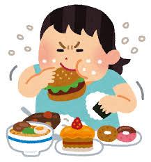 大食い女性