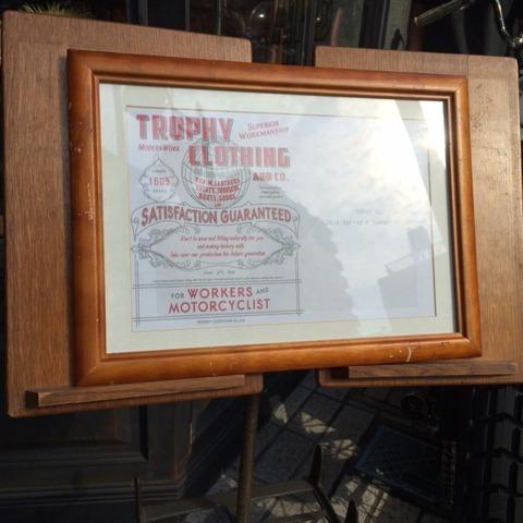 TROPHY CLOTHING展示会!!