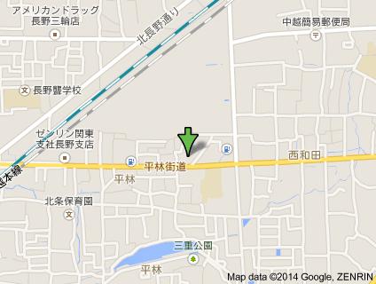 セブンイレブン長野平林店地図