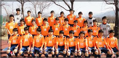 AC長野パルセイロU-15集合写真