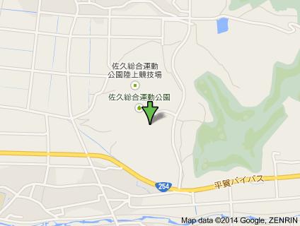 佐久総合運動公園地図