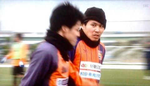 宇野沢選手と菅野選手