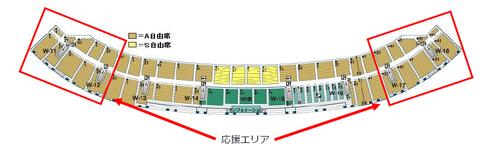 エコパスタジアム座席表