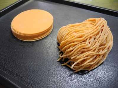 橙麺と橙皮