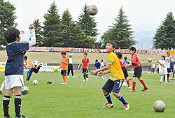 AC長野パルセイロサッカー教室