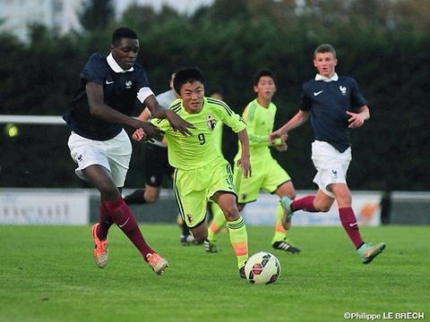 バル・ド・マルヌU-16国際親善トーナメント vsフランス戦