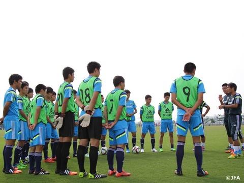 U-16日本代表メンバー