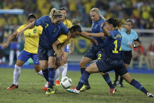 RIO女子サッカー